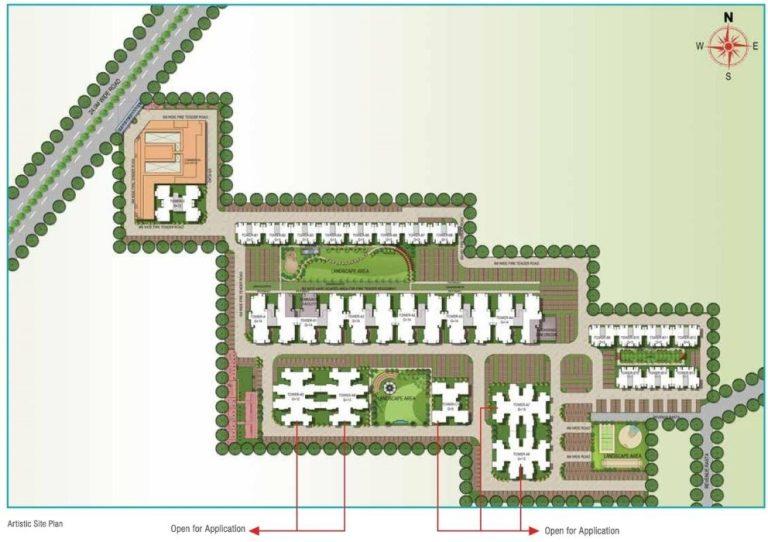 Signature Global Solera 2 Affordable Housing Sector 107 Gurgaon Gurugram Dwarka Expressway Gurgaon Affordable Affordable Homes site-plan