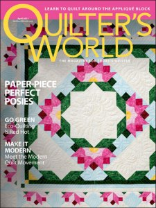 Quilter's World April 2011 Cover