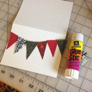 Holiday Notecard | ReannaLily Designs | Small Sewn Projects