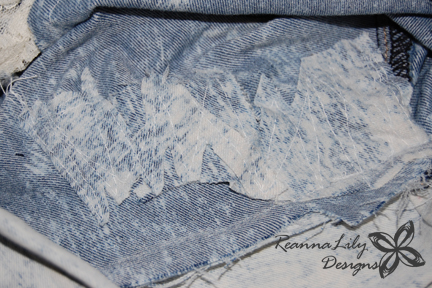 Acid Washed Shorts | Forever 21 | Lace Alteration | Jen Eskridge | ReannaLily Designs