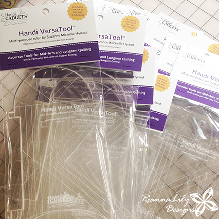 Handi Quilter Rulers | ReannaLily Designs