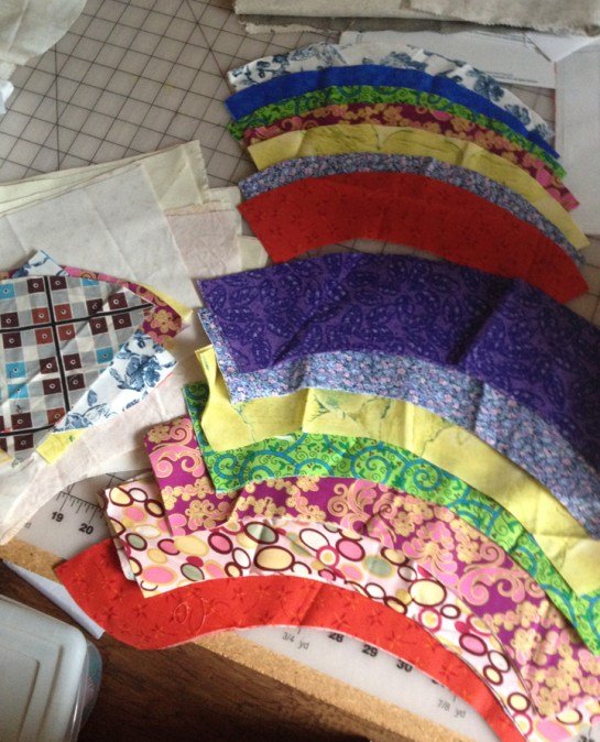 Curve Quilt Pattern   ReannaLily Designs