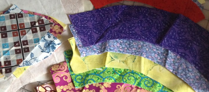 Giant Curves: New Quilt Pattern