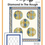 Diamond In the Rough | Quilt Pattern | ReannaLily Designs