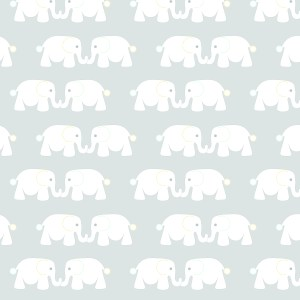 Elephant Buddies | Textile Design | Jen Eskridge