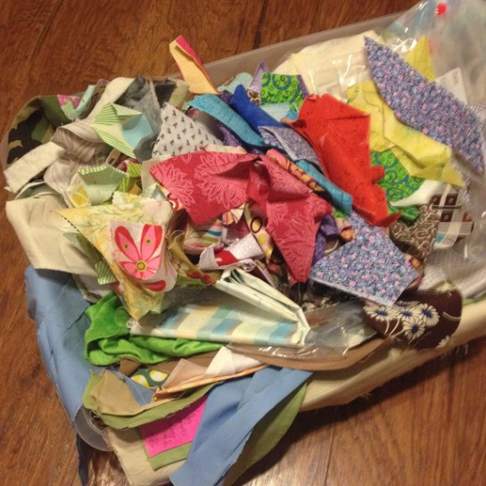Quilting Fabric Scraps | ReannaLily Designs