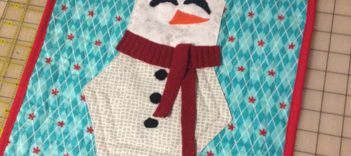 Hexagon Snowmen Quilt