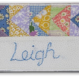 Quilt Guild Name Tags | Sewing Pattern | ReannaLily Designs
