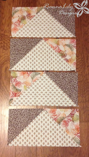 Giant Flying Geese Using Layer Cakes   Quilting Pattern   Jen Eskridge   ReannaLily Designs