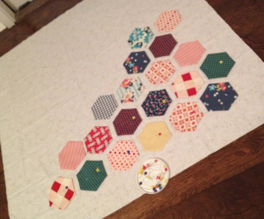Hexagons Made Easy | Wall Hanging | ReannaLily Designs