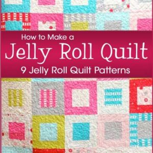 Jelly Roll Quilt Book | Pattern Collection