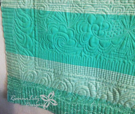 Free Motion Quilting   ReannaLily Designs   QuiltCon 2016 Entry