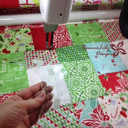 Quilting with Longarm Rulers