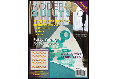 Modern Quilts Unlimited Fall 2013