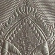 Platinum Garden: Satin Wholecloth Quilt