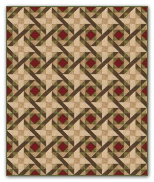 Woven Comfort   Quilt Pattern   ReannaLily Designs