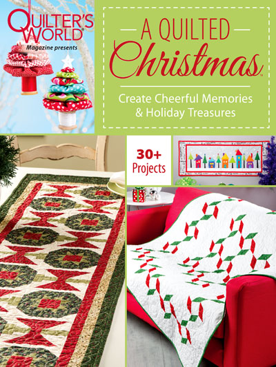 A Quilted Christmas | Noel Banner | Jen Eskridge | ReannaLily Designs