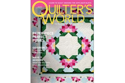 Quilter's World April 2011