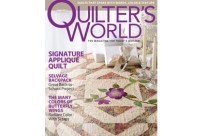 Pathways in Quilter's World Aug 2011