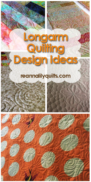 ReannaLily Quilts Textures | Quilting Design Ideas | Longarm Quilting | Longarm Designs | Free Motion Quilting | Machine Quilting