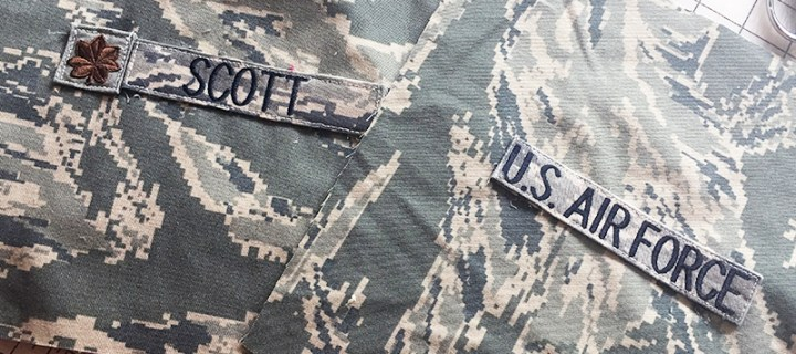 Retirement Quilts- Maj Scott, USAF