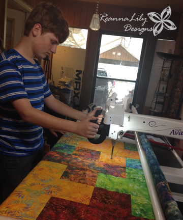 Robbie | Longarm Quilting | Charity