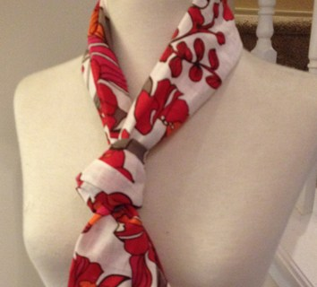 Small Sewn Gift Scarf