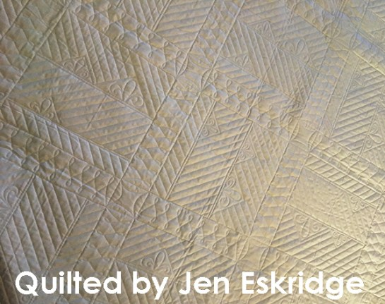 Shiplap Ahoy Quilts longarm quilted by Jen Eskridge | ReannaLily Designs | ReannaLily Quilts | Nancy Zieman
