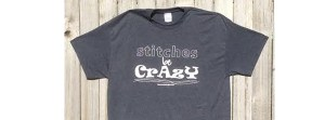 ReannaLily Designs | TShirt | Stitches Be Crazy