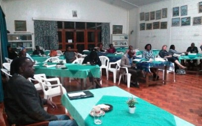 Photo of Informal Setting of a Creation Care Meeting