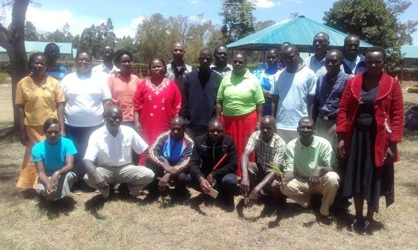 Group Photograph of the Natural Medicine training at the AIC Missionary College, Eldoret