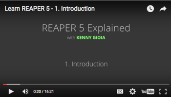 REAPER Tips from KennyMania | The REAPER Blog