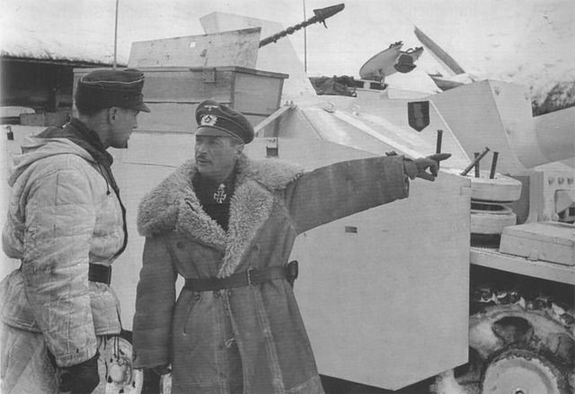 Hyacinth Graf Strachwitz German Tank ace in WW2