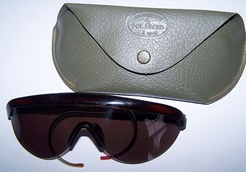 sunglasses from the Nuremberg trial
