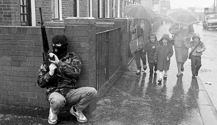 IRA Patrol Belfast