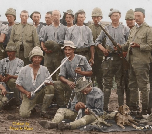 British Soldiers during the Boer War