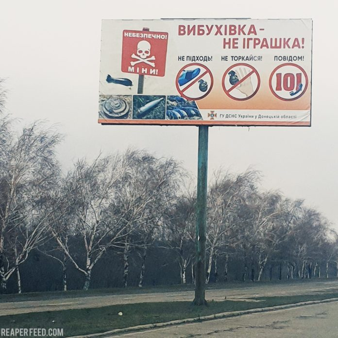 road of death donetsk ukraine