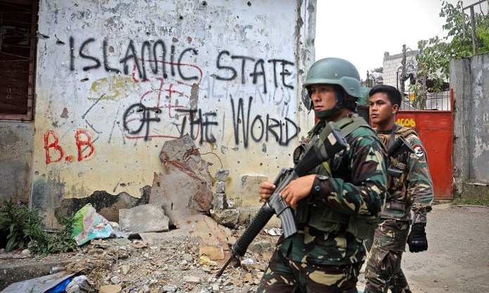 Filipino soldier Battle of marawi