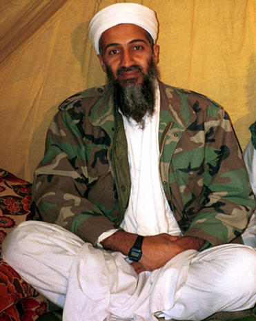 Osama Bin Laden wearing Casio FW91