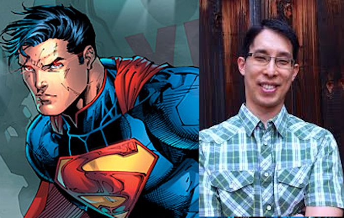 Gene Luen Yang will be writing DC's Superman. Where do I sign up?