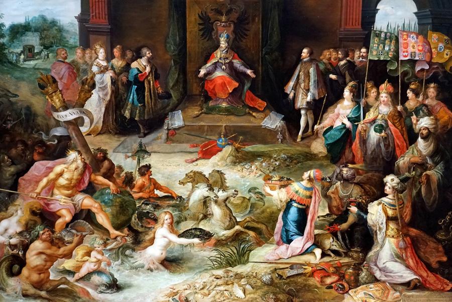 Abdicacion Carlos V - Frans Francken II