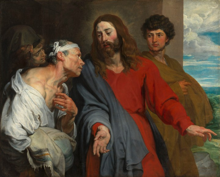 Christ Healing the Paralytic - Anthony Van Dyck