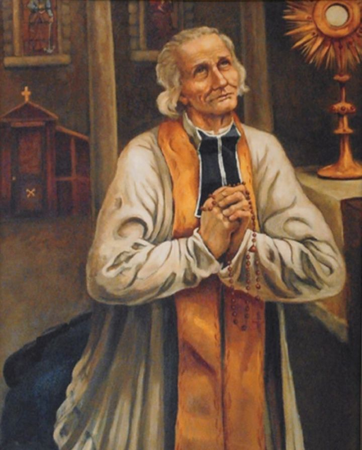 John Vianney in Prayer