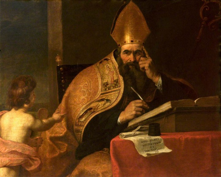 The Four Doctors of the Western Church: Saint Augustine of Hippo (354-430) by Gerard Seghers, 1591-1651;