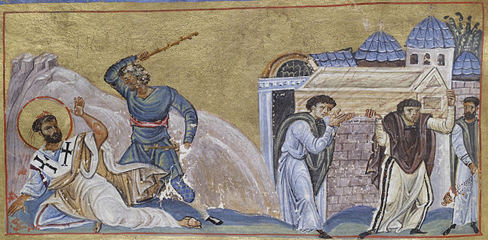 Constantinople, The Martyrdom of Saint Timothy, 1025-50