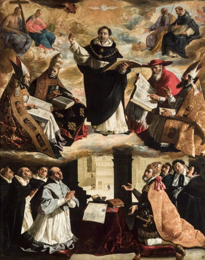 the-apotheosis-of-saint-thomas-aquinas-francisco-de-zurbaran