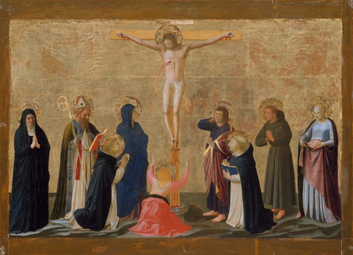 Crucifixion-tempera-painting-Fra-Angelico-New-York
