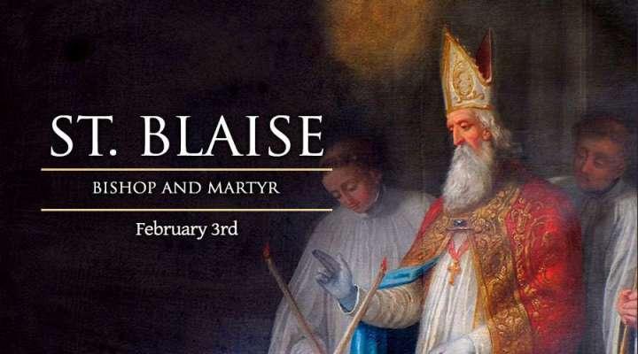 Feb. 3 - St. Blaise new