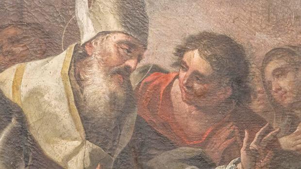 Bishop Macarius accompanies St Helena
