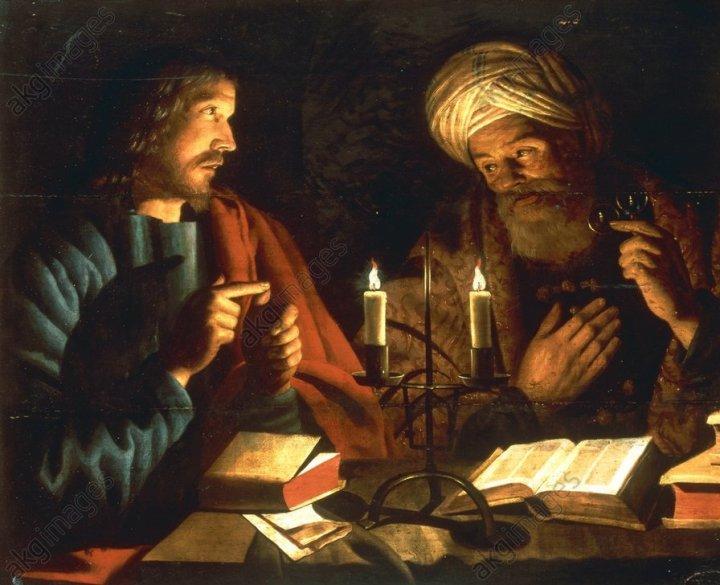 Christ and Nicodemus